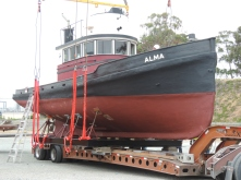 E Alma Lifted to New Site (24)
