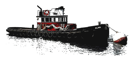 Tug Alma Art with Stack