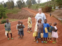 Kigali- Kids and gerrycans