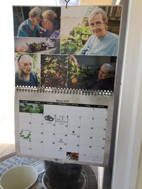 Garden House calendar 2019